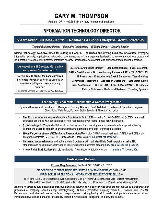 it director sample resume it resume writer technical resume writer recruiter