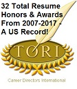 The Career Directors International  CDI  has announced its      Toast of  the R  sum   Industry  TORI  competition winners  The TORI award is a  prestigious     Random Posts