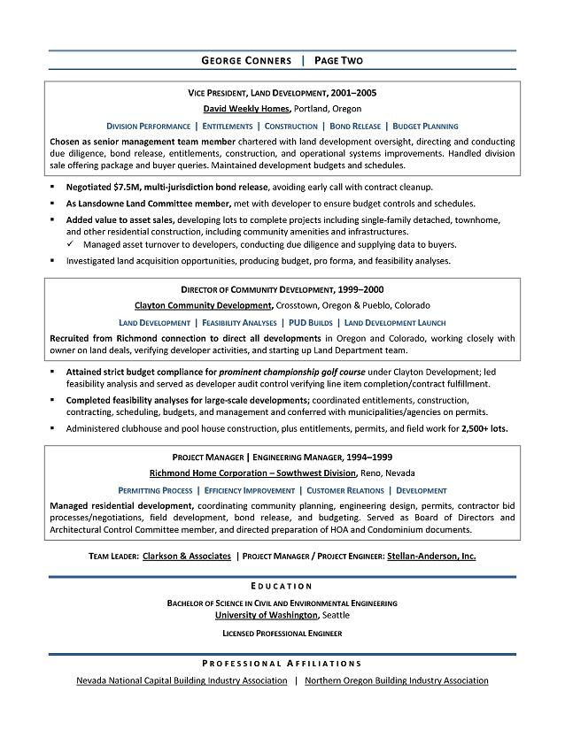 Manager Sample Resume - Executive resume writer for CEO, CIO, CTO ...